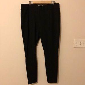 Old Navy Black Ponte Pants Size XL NWOT